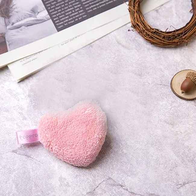 心形多功能潔顏巾 TOPPRO&LADY'S 洗臉巾 韓國進口製造