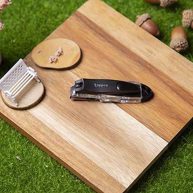360度迴轉式附挫刀指甲剪(M) TOPPRO&LADY'S 指甲剪刀 韓國進口製造