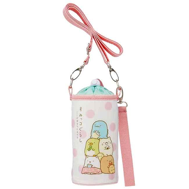 保冷水壺袋500ml SAN-X 角落生物 水瓶提背袋 日本進口正版授權