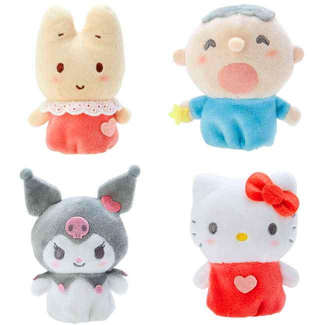 絨毛手指娃娃 三麗鷗 KITTY 大寶 兔媽媽 酷洛米 手指玩偶 日本進口正版授權