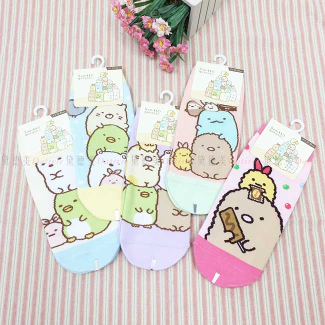 襪子 SAN-X 角落生物 角落小夥伴 22~26cm 直版襪 正版授權