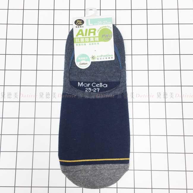 瑪榭襪品 氣墊抗菌柔棉襪套 撞色 25~27cm 除臭襪