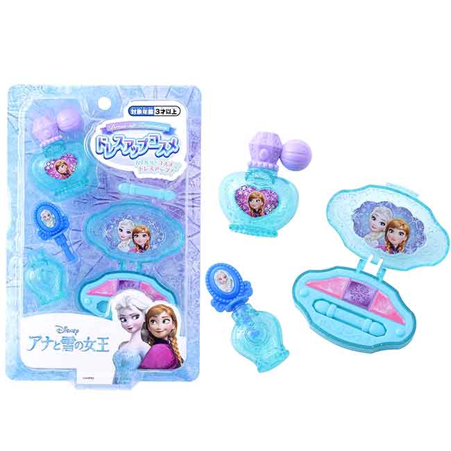 化妝塑膠玩具 迪士尼 冰雪奇緣 FROZEN DISNEY 兒童玩具 日本進口正版授權