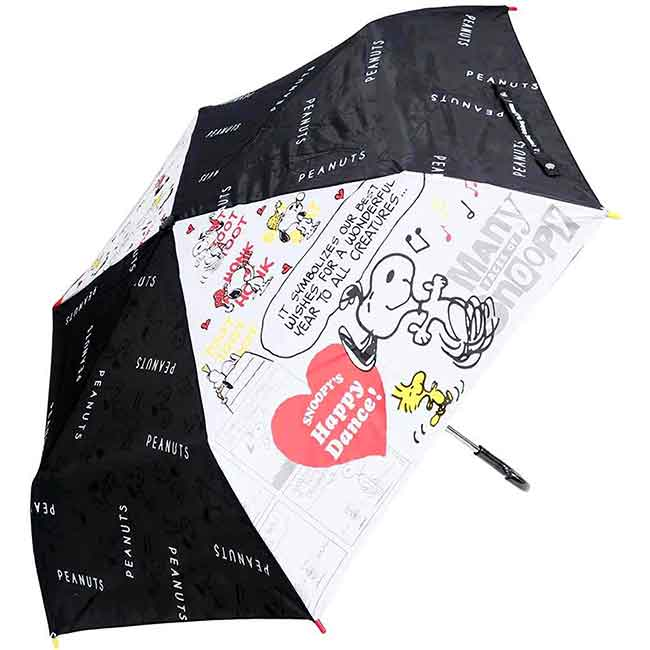 抗風手動摺疊傘 史努比 SNOOPY 握把摺疊傘 日本進口正版授權