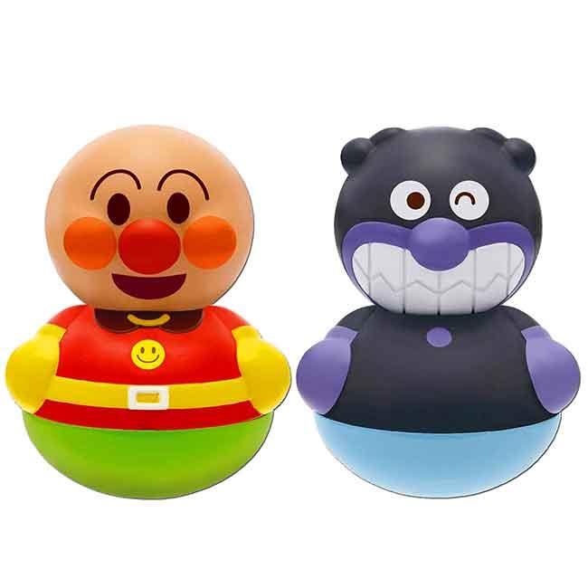 不倒翁 麵包超人 細菌人 Anpanman 幼童玩具 日本進口正版授權