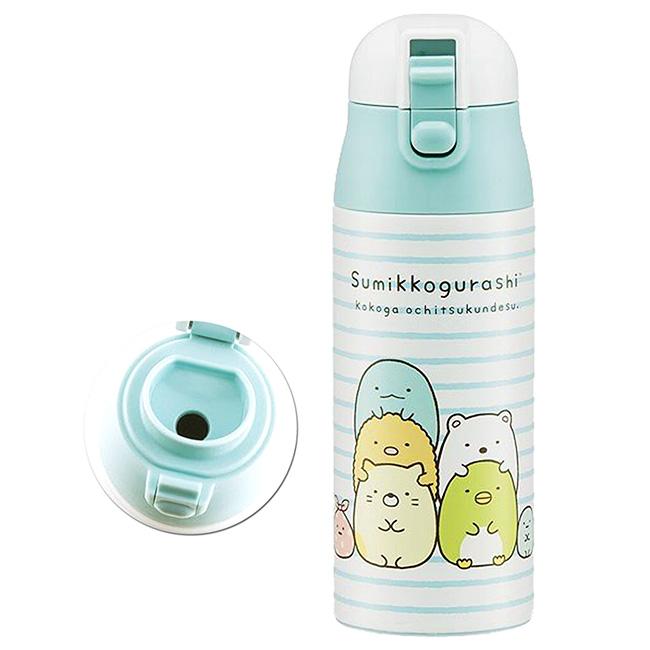 不鏽鋼保冷水壺 SAN-X 角落生物 超輕量 直飲式 保溫保冷 日本進口正版授權
