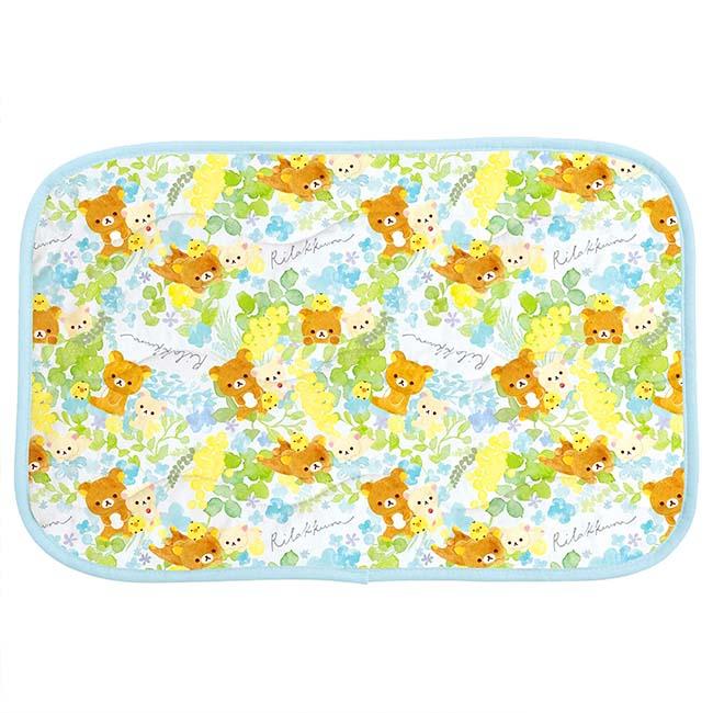 涼枕巾 SAN-X 拉拉熊 涼感 枕頭巾 日本進口正版授權