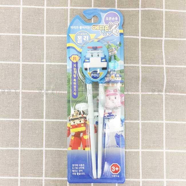學習筷 波力 POLI 救援小英雄 筷子 韓國進口正版授權