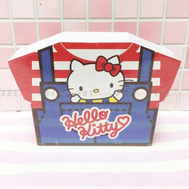 衣服亮面便條盒 三麗鷗 KITTY 便條紙 正版授權