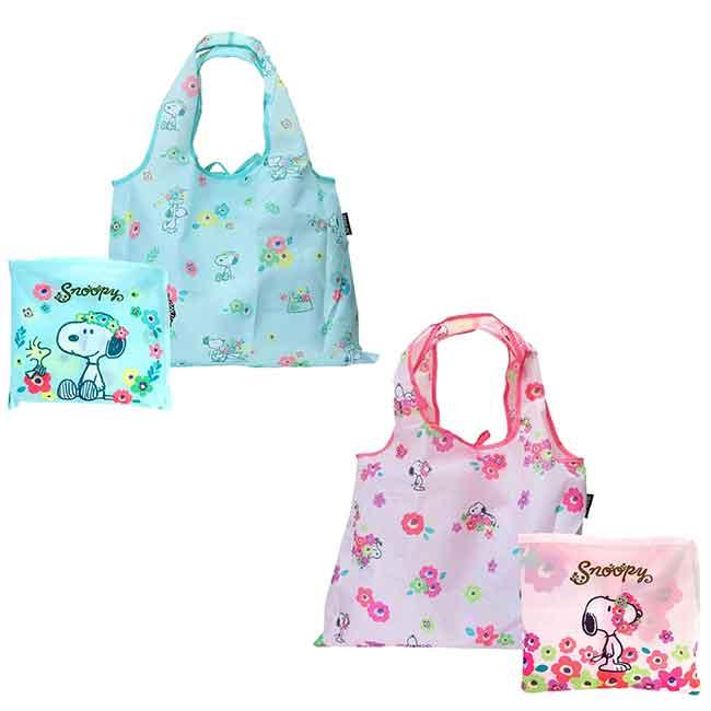 尼龍環保購物袋 SNOOPY 史努比 收納袋 日本進口正版授權