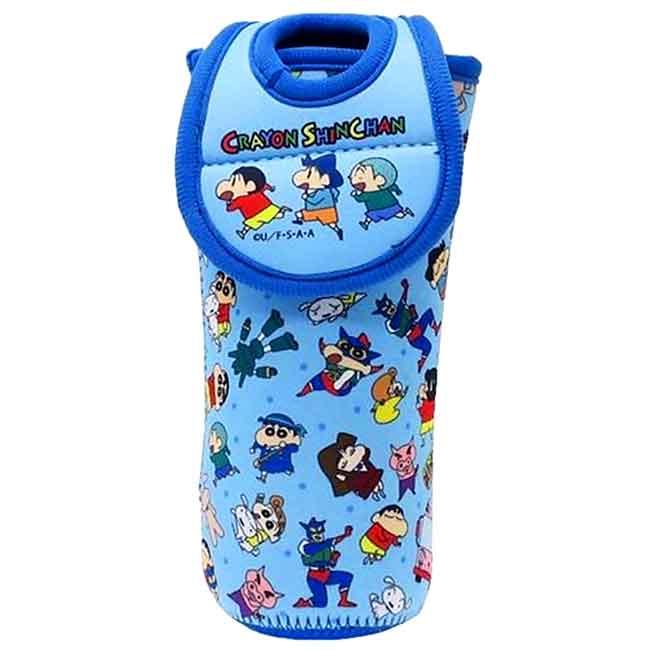 水壺套 蠟筆小新 500ml 水瓶保護套 日本進口正版授權