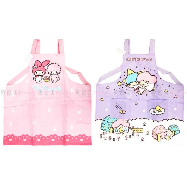 圍裙 三麗鷗 Sanrio 美樂蒂 kikilala 長圍裙 正版授權
