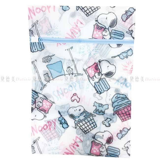 方型洗衣網袋 SNOOPY 史努比 34x50cm 洗衣網 正版授權