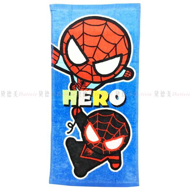 童巾 迪士尼 漫威 蜘蛛人 Spider Man 毛巾 正版授權