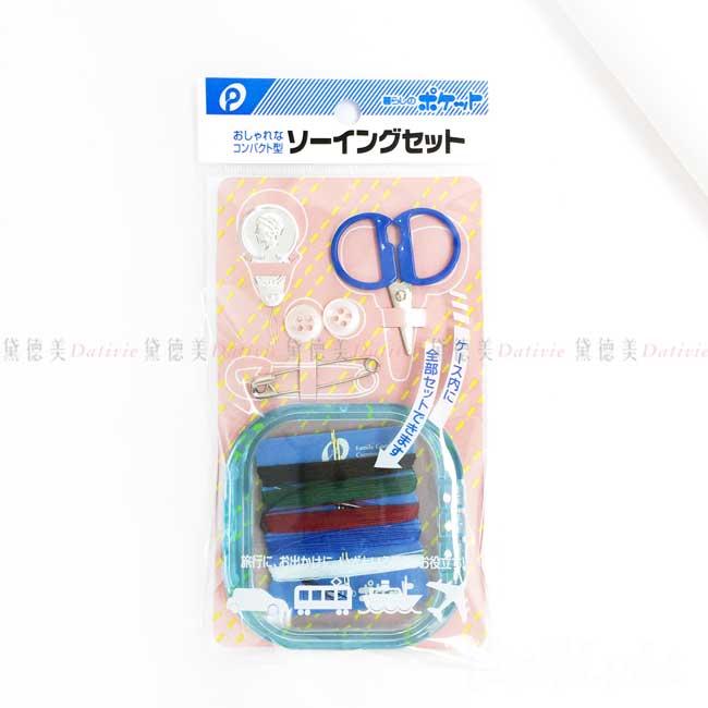 攜帶式針線套組 POCKET 針線盒 隨身針線組