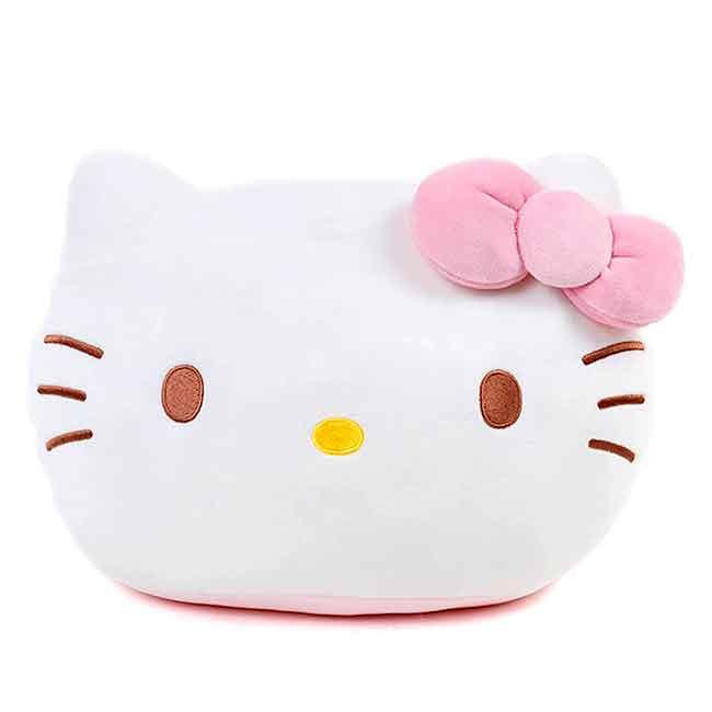 涼感棉柔抱靠枕 三麗鷗 KITTY 凱蒂貓 抱枕 日本進口正版授權