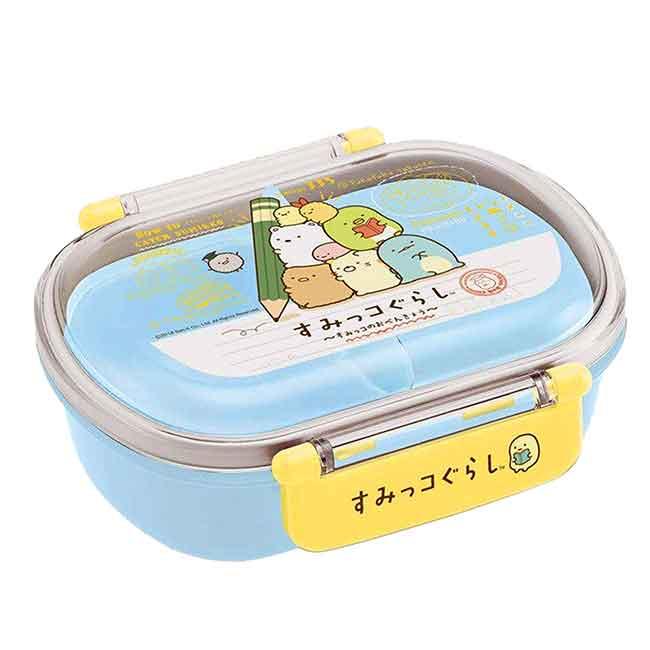方形塑膠雙扣保鮮盒 日本 SAN-X 角落生物 360ML 便當盒 日本進口正版授權