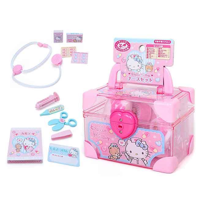 醫護玩具組 三麗鷗 KITTY 凱蒂貓 醫生玩具組 日本進口正版授權