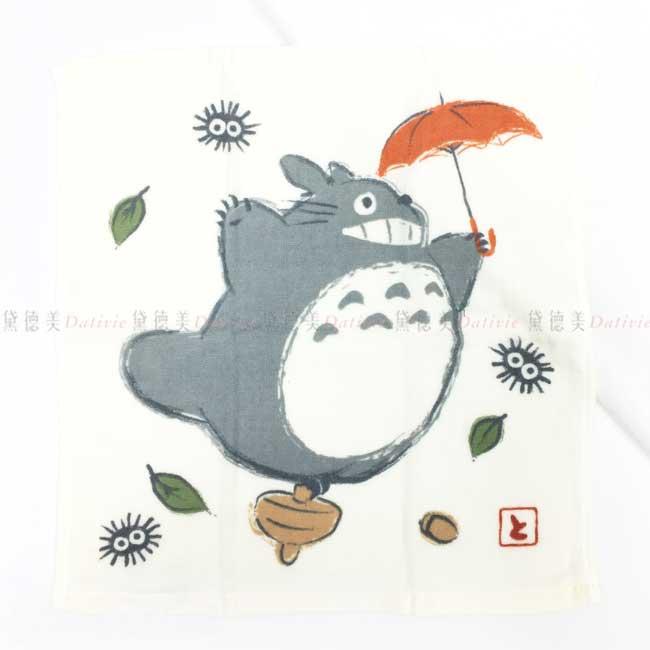 純棉紗布方巾 日本 宮崎駿 龍貓 totoro 豆豆龍 吉卜力 毛巾 日本進口正版授權