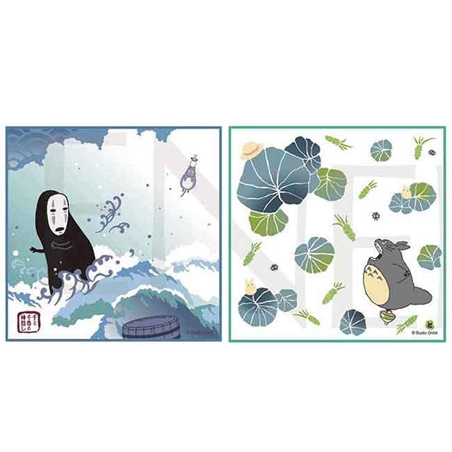 紗布手方巾 日本 宮崎駿 龍貓 totoro 豆豆龍 吉卜力 29x29cm 毛巾 日本進口正版授權