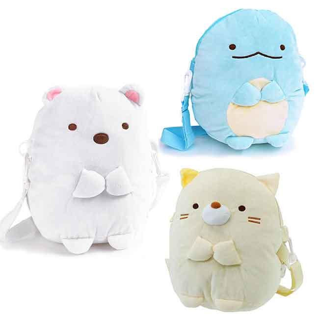 行李拉桿包 SAN-X 角落生物 白熊 蜥蜴 貓咪 包包 日本進口正版授權