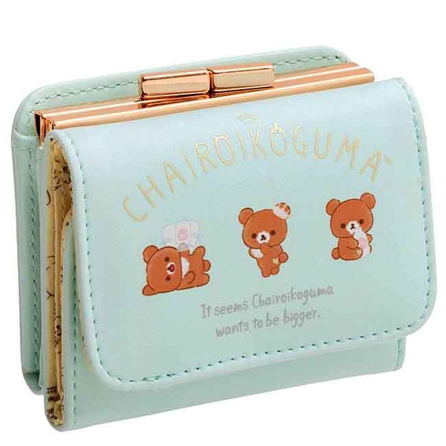 短夾附零錢袋 SAN-X 懶懶熊 拉拉熊 皮夾 日本進口正版授權