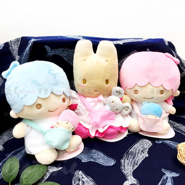 絨毛娃娃附小玩偶-雙子星kikilala 茉莉兔 兔媽媽 Marron Cream 三麗鷗 Sanrio  日本進口