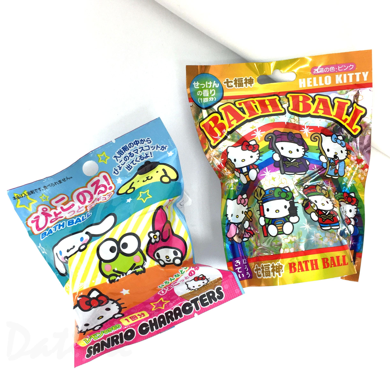 沐浴球-KITTY 美樂蒂 大耳狗 布丁狗 大眼蛙 三麗鷗 Sanrio 日本進口