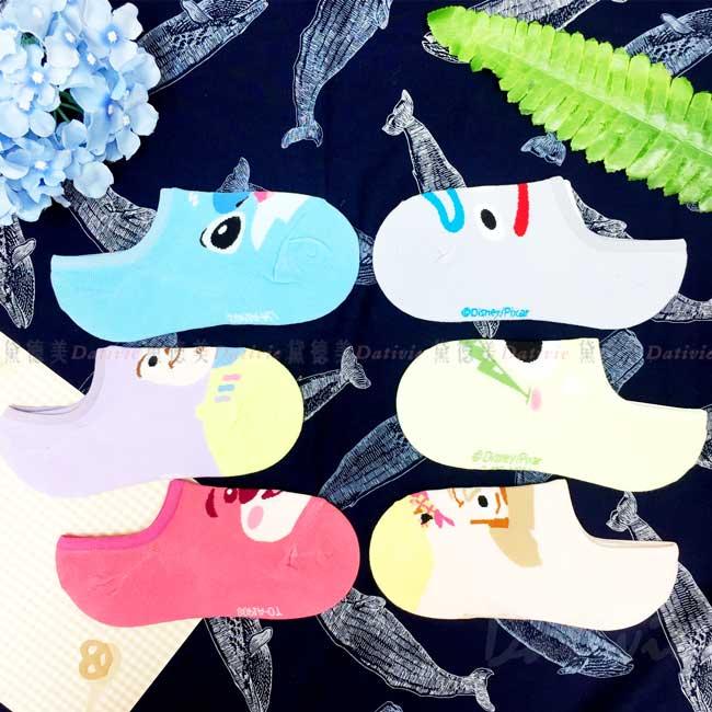 矽膠止滑隱形襪 迪士尼 皮克斯 玩具總動員 怪獸大學 星際寶貝 襪子 正版授權