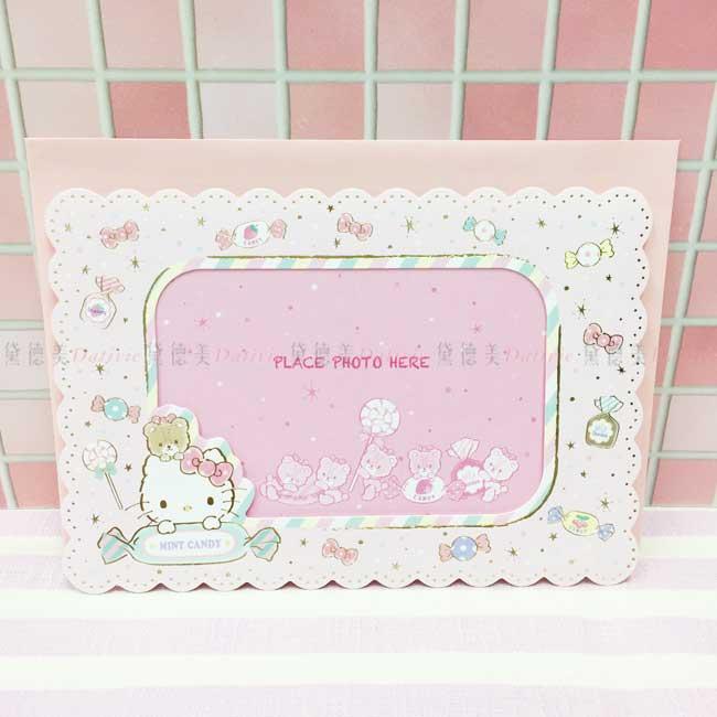 萬用卡 三麗鷗 Hello Kitty 相框卡片 正版授權