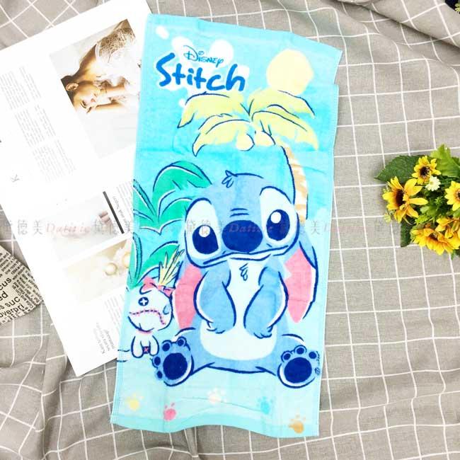 純棉童巾 迪士尼 星際寶貝 史迪奇 毛巾 正版授權