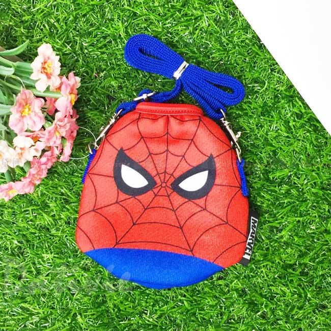小水壺套 迪士尼 漫威 SKATER 蜘蛛人 280ml 水杯套 日本進口正版授權