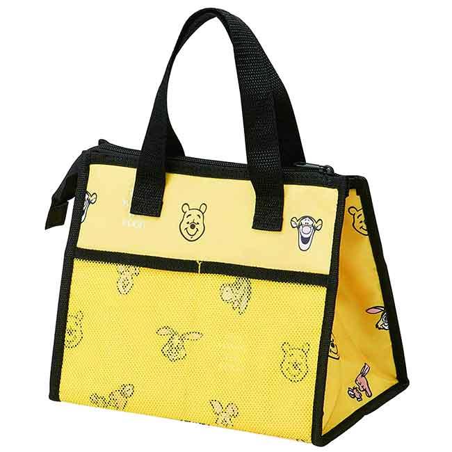 方形尼龍保冷便當袋 迪士尼 小熊維尼 Pooh SKATER 保冷提袋 日本進口正版授權