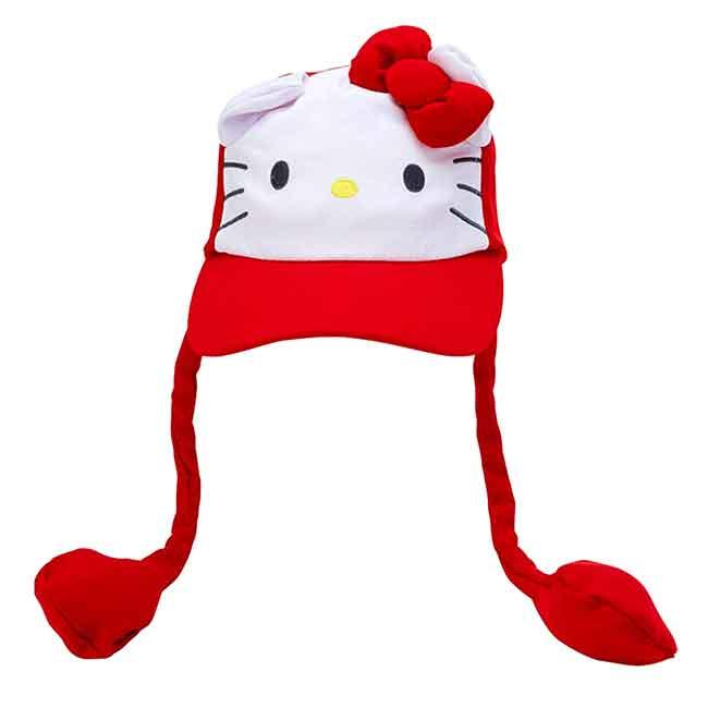 造型耳朵動動鴨舌帽 三麗鷗 KITTY 凱蒂貓 帽子 日本進口正版授權