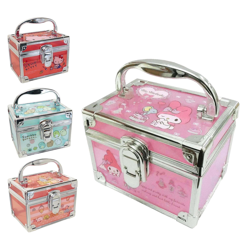 迷你半透明收納盒-KITTY MELODY 凱蒂貓 美樂蒂 角落生物 SAN-X 三麗鷗 Sanrio 四款 日本進口