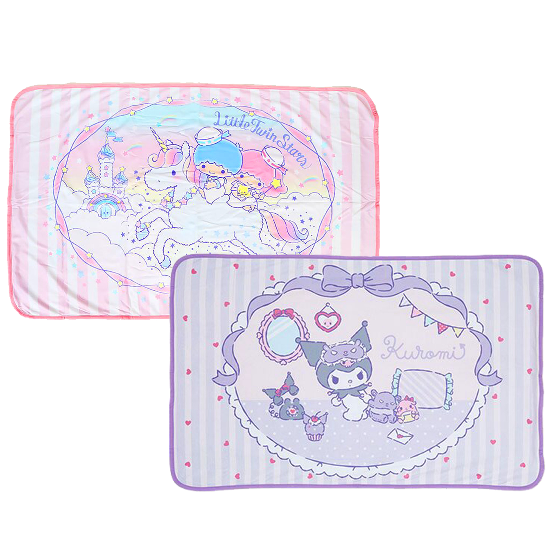 涼感冷氣毯-酷洛米 雙子星 三麗鷗 Sanrio 兩款 日本進口
