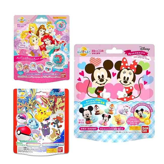 沐浴球 迪士尼 公主系列 迪士尼系列 寶可夢系列 泡澡球 日本進口正版授權