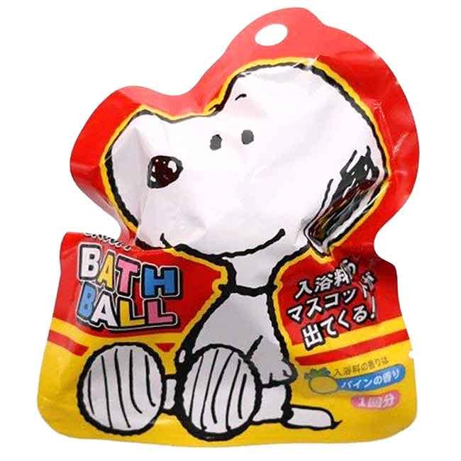 沐浴球 史努比 SNOOPY PEANUTS 80g 泡澡球 日本進口正版授權
