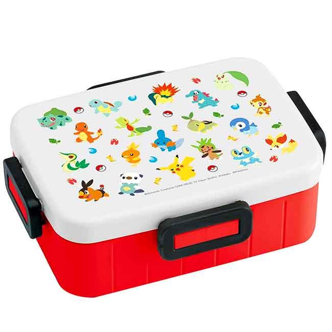 方型塑膠保鮮盒 日本 寶可夢 皮卡丘 SKATER 神奇寶貝 便當盒 日本進口正版授權
