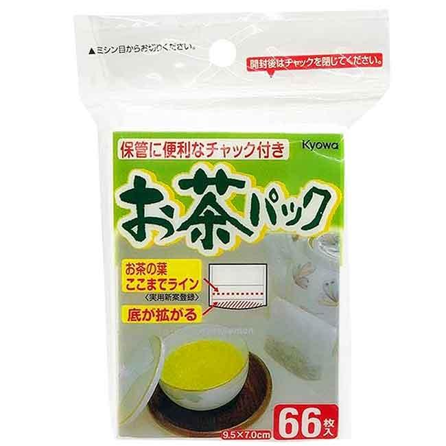 夾鏈包裝濾茶袋 M 66入 Kyowa 日本製造進口