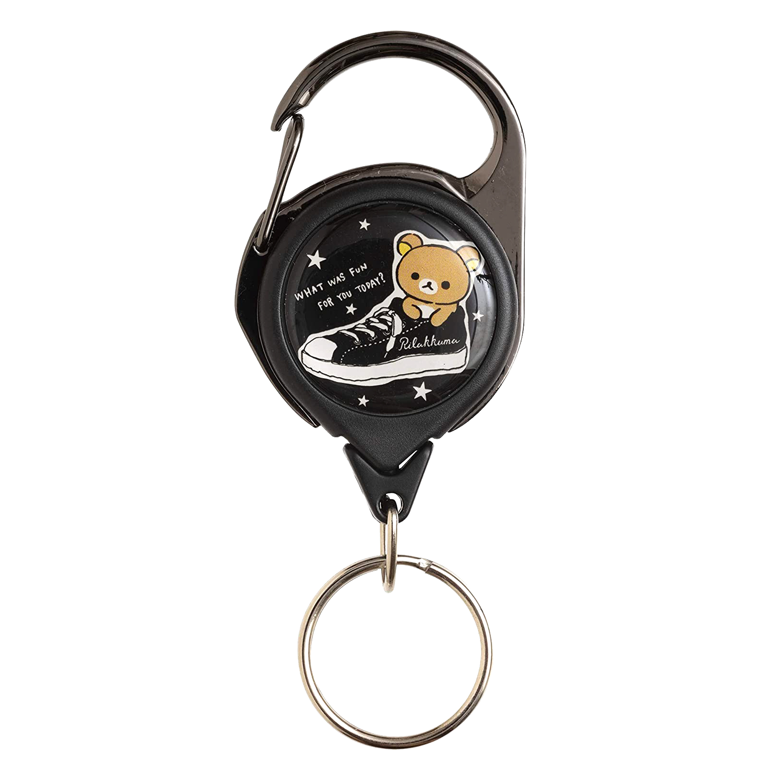 伸縮鑰匙扣-拉拉熊 RK Rilakkuma san-x 日本進口