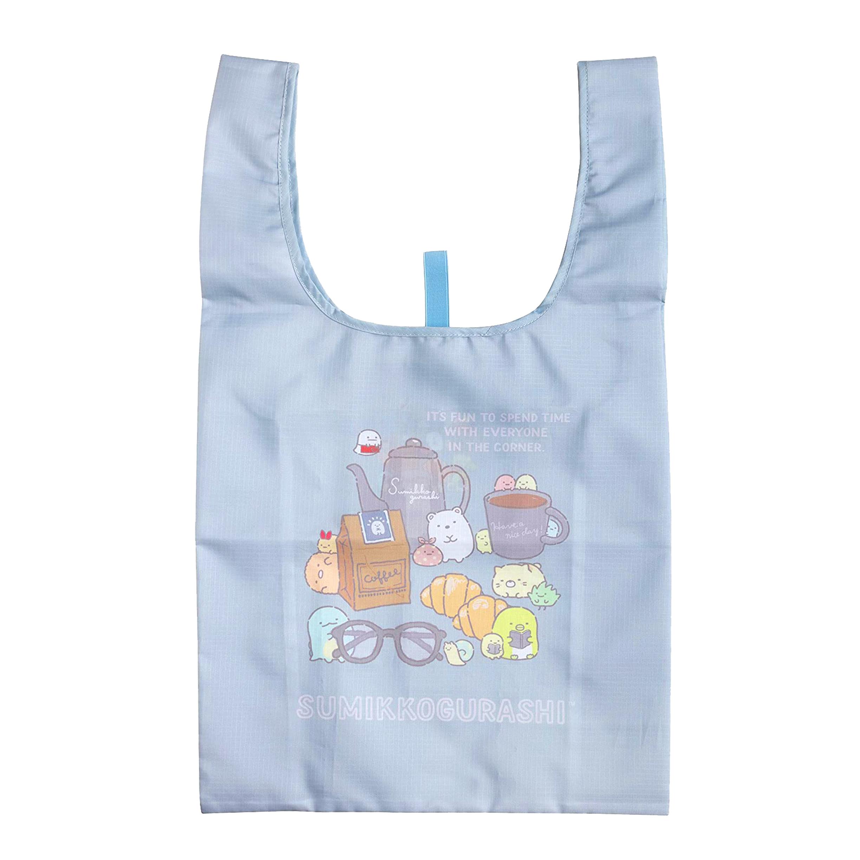 折疊尼龍環保購物袋-角落生物 Sumikkogurashi san-x 日本進口