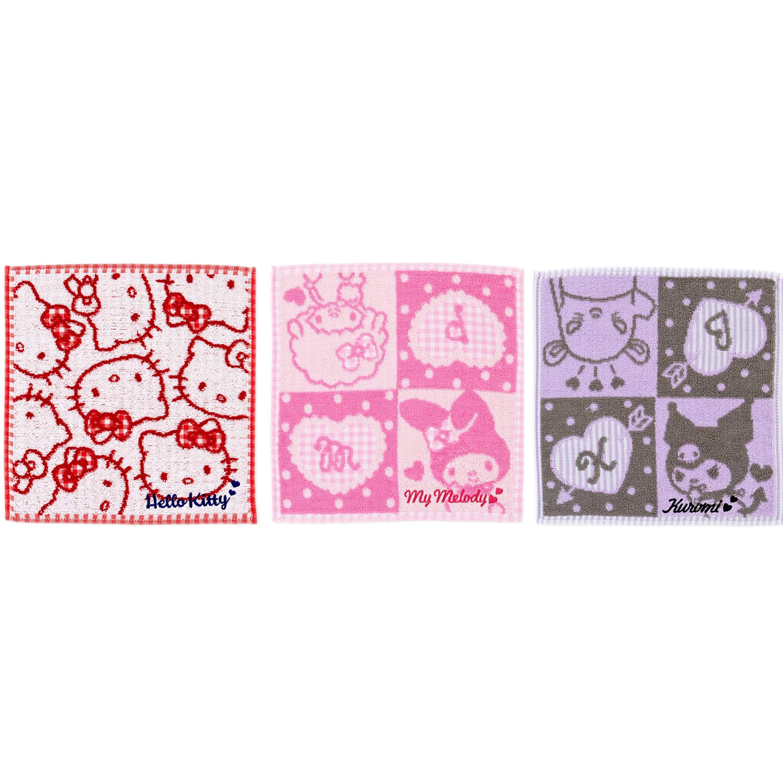 三麗鷗經典 小方巾 手帕 毛巾 日本進口