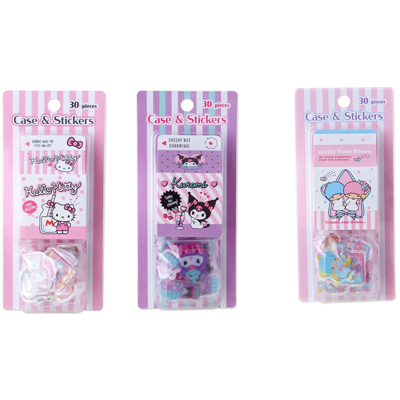三麗鷗 牛奶盒貼紙 日本進口