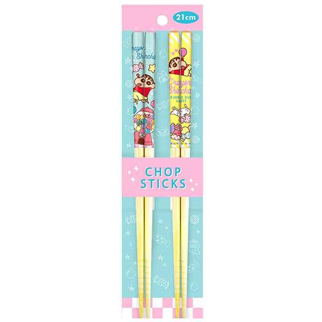 天然竹竹筷 蠟筆小新 Crayon Shin Chain 筷子 日本進口正版授權