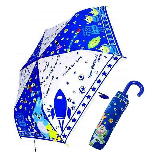 抗風手動摺疊傘 迪士尼 皮克斯 玩具總動員4 摺疊雨傘 日本進口正版授權
