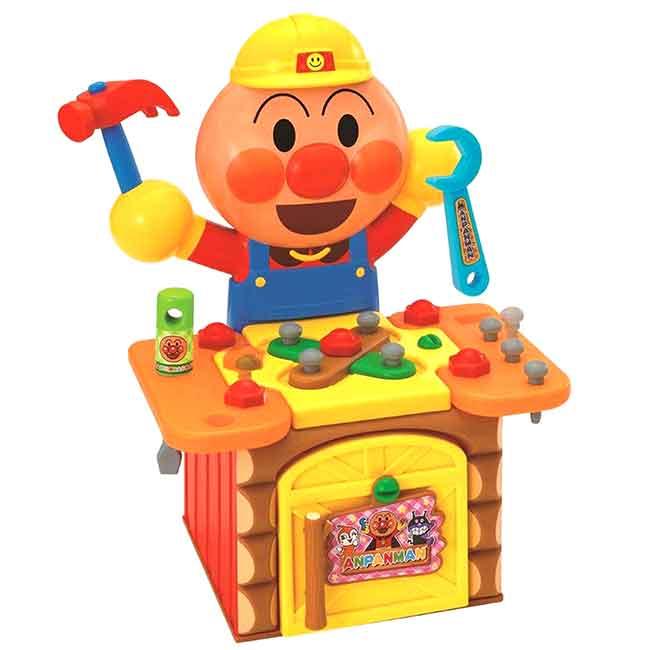 兒童工具桌玩具組 麵包超人 ANPANMAN JOYPALETTE 玩具 日本進口正版授權