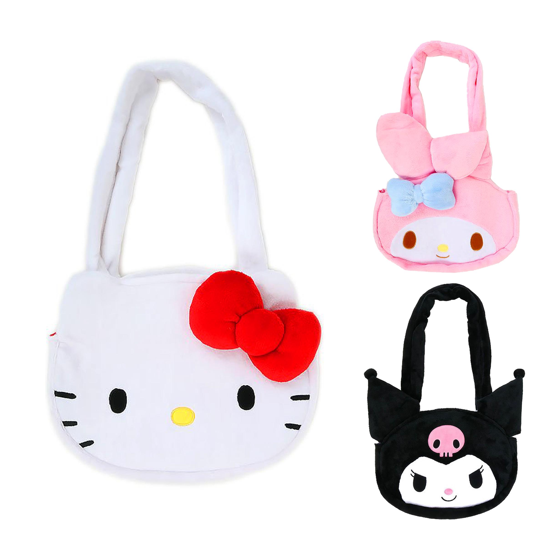 大頭造型磁扣手提袋-三麗鷗 Sanrio 日本進口