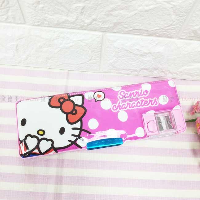 雙開筆盒 三麗鷗 HELLO KITTY 多功能鉛筆盒 正版授權