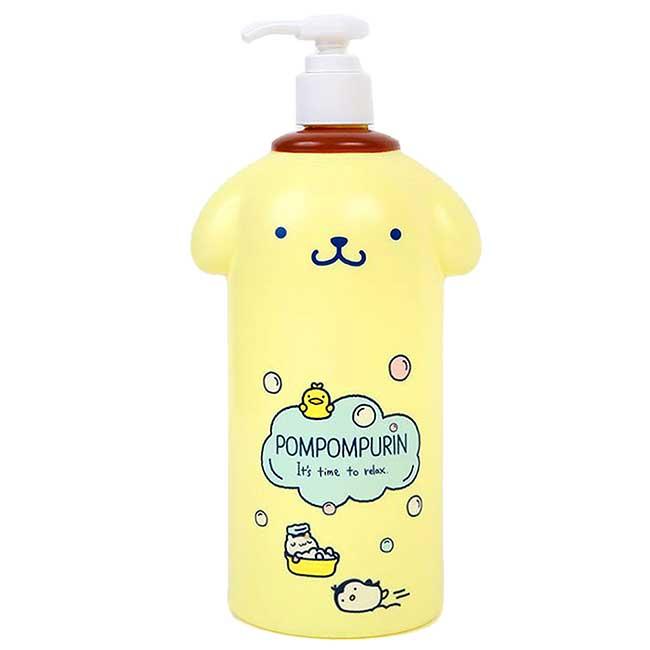 造型塑膠按壓式空瓶 三麗鷗 布丁狗 Pom Pom Purin 容器 日本進口正版授權
